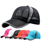 1X Stylish Women Men Adjustable Mesh Baseball Hat Sports Snapback Golf Caps Gift
