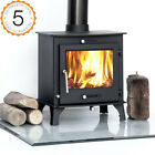 Ecosy+ Ottawa 7-8kw Multi-Fuel Woodburning Stove Stoves Woodburners Wood burner