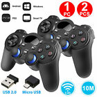 1/2 pack 2.4G Wireless Gamepad Gaming Controller For Android Tablets Phone PC TV