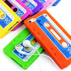 For Apple iPhone 5S 5 Cassette Retro Tape Silicone Soft Gel Phone Case Cover