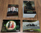Arrow Season 4 Complete Silver Foil Board Master 72 Card Set & 27 Chase Cards