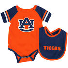 Auburn Tigers Colosseum Roll-Out Infant One Piece Outfit and Bib Set