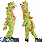 Boys Dinosaur Costume T Rex All in One Outfit Toddler  Age 1-4 Years