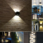 7W Modern Square LED Wall Light Up Down Cube Indoor Outdoor Sconce Lighting Lamp