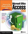 How to Do Everything with Microsoft Office Ac... by Andersen, Virginia Paperback