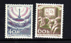 CZECHOSLOVAKIA #825-826  TELIVISION INDUSTRY  MINT  VF NH O.G