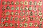 VINTAGE COLLECTABLE HORSE BRASS - CHOOSE FROM LIST ALL WITH PHOTO'S  LOT B1