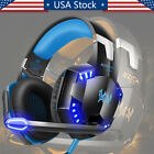 ps3 headset mic - 3.5mm Gaming Headset LED Gaming Headphone with Mic for PS4 Switch Xbox One PS3