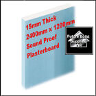 Plasterboard Sheets 15mm Thick Sound Proof Panel Tapered Edge 2 to 10 sheets