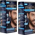 2x Schwarzkopf MEN PERFECT Bart-Coloration Farben