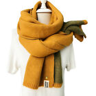 CO_ Cashmere Knitted Scarf Shawl Pineapple Women Winter Neck Wrap Warmer Conveni