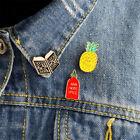 1pc Enamel pins Book pineapple spice bottle book pins badges funny pins jewelry