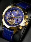 "NEW: Calvaneo 1583 Astonia "" Luxury Blue Gold "" High Quality Automatic Calendar"