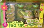 Schylling Child's 15pc Tin Tea Set Cups Teapot Tray - Many Styles - New in Box