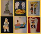 Beavis and Butthead Men's 100% Cotton L XL T-Shirts Pick From Many Styles NEW