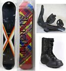 """NEW APOCALYPS """"GRADATION"""" SNOWBOARD, BINDINGS, BOOTS PACKAGE - 156cm"""