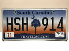 "(choose 1) South Carolina license plate - ""Sunrise design"""