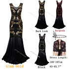 Women Sequin Prom Wedding Party Dresses Formal Evening Gowns Cocktail Dress 4-18