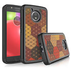 For Motorola Moto E4 / E4 Plus Phone Case Shockproof Armor Hybrid Rubber Cover