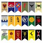 Game of Thrones Harry Potter Gryffindor Slytherin Ravenclaw Hogwarts Flag Banner