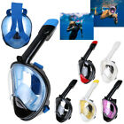 Full Face Scuba Snorkeling Snorkel Mask Diving Goggles Breather Pipe For GoPro