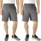 2pk Fruit Of The Loom Athletic Shorts Men Tagless Cotton Shorts Gym Shorts