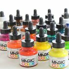 Magic color acrylic inks assorted colours set paint spray Artist Ink 28ml bottle