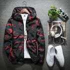 New Spring Jackets Men 's Waterproof Hooded Outdoor Teen Camouflage Jacket