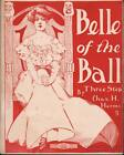 1905 Charles H Herms Piano Sheet Music (Belle of the Ball)