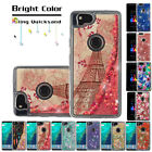 FOR GOOGLE PIXEL 2/XL 2 BLING HYBRID LIQUID GLITTER TPU PROTECTOR CASE COVER
