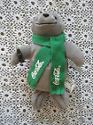 Coca Cola Seal Bean Bag With Tag 9 Inches Vintage Green Scraf