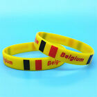 2018 World Cup Country Flag Unisex Silicone Bracelet Rubber Sports Wrist band