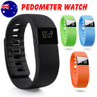 Smart Activity Fitness Tracker Fit Wristband Watch Android iPhone BAND AU SHIP