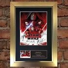 STAR WARS The Last Jedi Quality Autograph Mounted Signed Photo Re Print A4 719