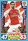 Match Attax Extra 17/18 New Signing Cards Pick From List