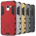 CoverON for Samsung Galaxy A8 2018 Case Hybrid Stand Armor Hard Phone Cover