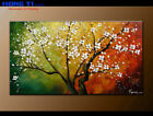 Original Decor Plum Blossom Abstract Oil Painting Modern Canvas Wall Art FY3671