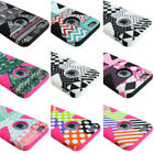 For Apple iPhone 6 / 6s Plus Design Silicone Dynamic Case+Tempered Glass Screen