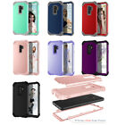10pcs/lot Hybrid 3 in 1 Shockproof TPU+PC Hard Case for Samsung Galaxy S9 S9+