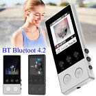 40 Hours BT 4.2 HiFi MP3 Music Player with FM Lossless Sound Recorder Up to 64GB