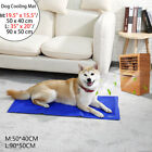 Dog Cooling Mat Pet Cat Chilly Non-Toxic Summer Cool Gel Bed  Pad Cushion Indoor