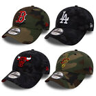New Era Men's MLB NBA Camo Team 9FORTY Adjustable Cap Bulls LA Cavaliers Boston