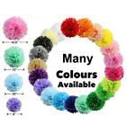 10 X Wedding Party Hanging Tissue Paper Pom Pom Lantern Decoration Balls 5 Size
