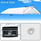 10x20 Carport Replacment Canopy Tent Top Garage Cover w Ball Bungees Frame not