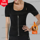 Women's Hot Sweat Body Shaper Tummy Fat Burner Slimming Saun