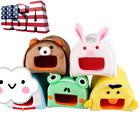 3D Cartoon Pet Warm Cave House Bed Frog Animals Shape Dog Cat Hamsters Rabbit