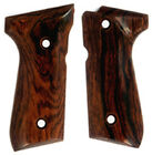 Rosewood Grips for Beretta 92F smooth