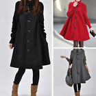 Spring Lady Casual Outwear Loose Cloak Overcoat Jacket Fashion Long Sleeve Coat