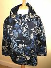 JOULES Coast Parka Style Waterproof Coat Navy Fanfayre Sz 16 RP£89.95 FreeUKP&P