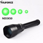 Zoomable ND3x50 Subzero Flashligt Green Laser Designator &Scope Mount For Rifle